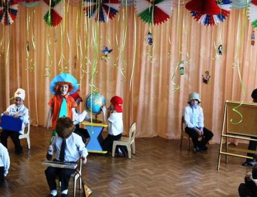 Сценарий на День знаний в детском саду старшая группа